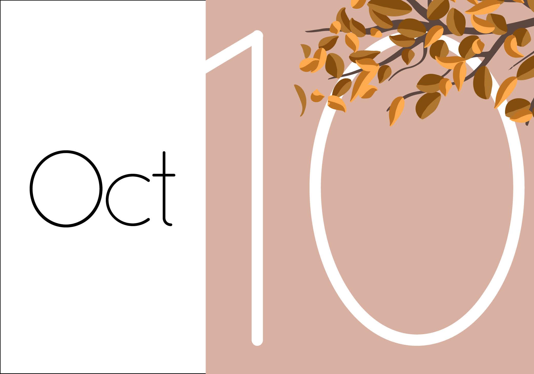 משבי רוח חודש אוקטובר